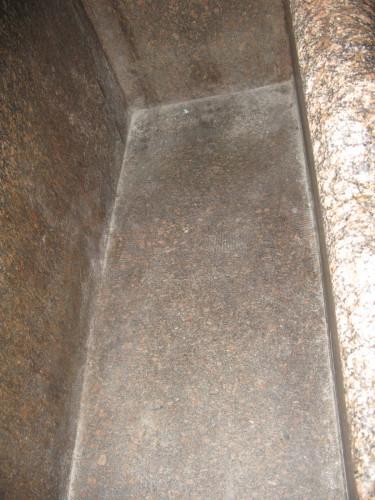 Wnetrze sarkofagu